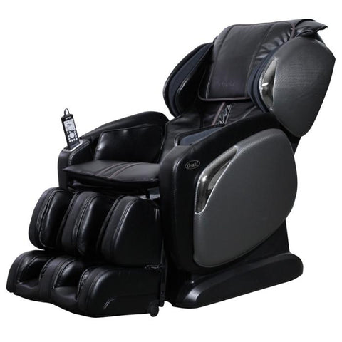 Osaki 4000LS Massage Chair in black side view