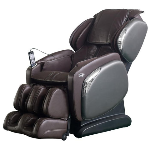 Osaki 4000LS Massage Chair in brown side view