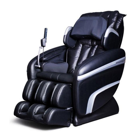 Osaki OS 7200H Massage Chair in black color semi side view