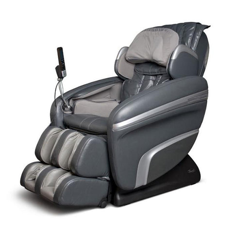 Osaki OS 7200H Massage Chair in charcoal semi side view