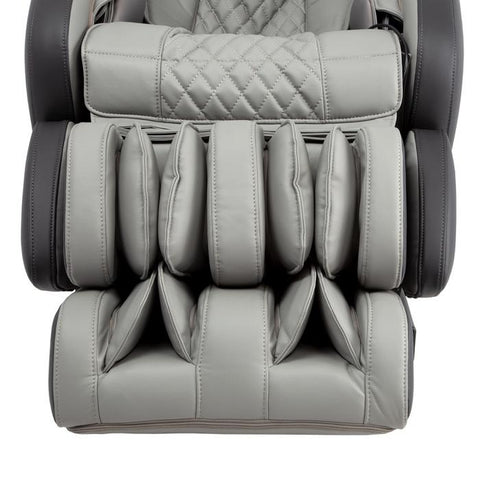 Osaki OS-Pro Admiral Massage Chair in gery color close up of foot rest