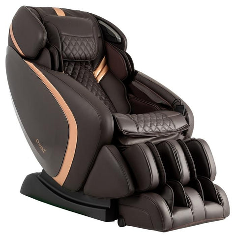 Osaki OS-Pro Admiral Massage Chair in brown color right side view