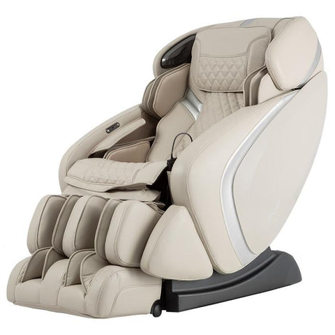 Osaki OS-Pro Admiral Massage Chair in Taupe color semi side view