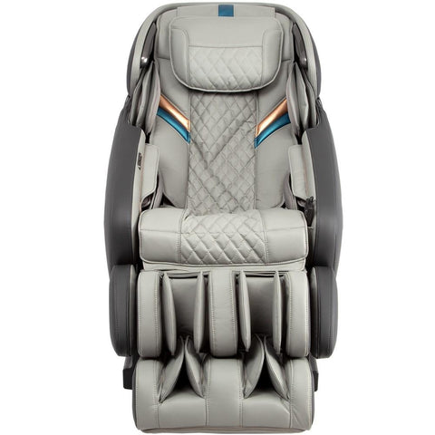 Osaki OS-Pro Admiral Massage Chair in grey color front view