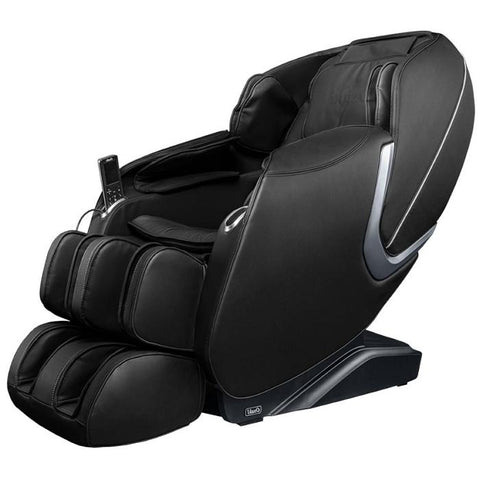 Osaki OS Aster Massage Chair in black color semi side view