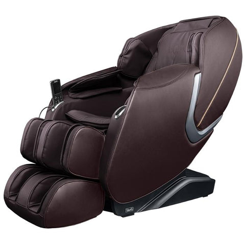 Osaki OS Aster Massage Chair in brown color semi side view