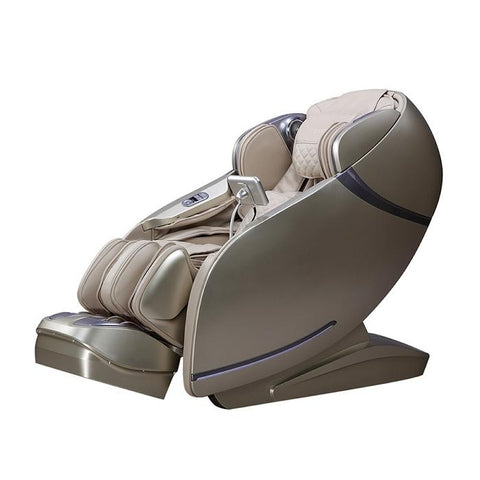 Osaki OS-Pro First Class Massage Chair in beige semi side view