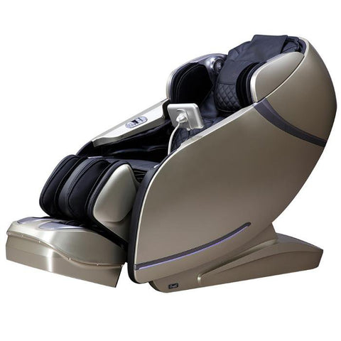 Osaki OS-Pro First Class Massage Chair in black beige semi side view