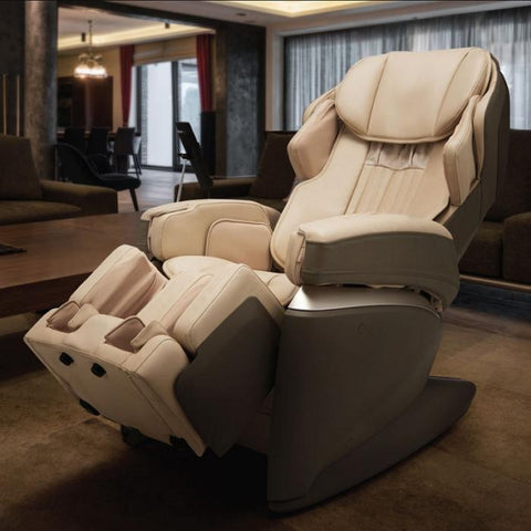 Osaki JP Premium 4S Japan Massage Chair cream in room