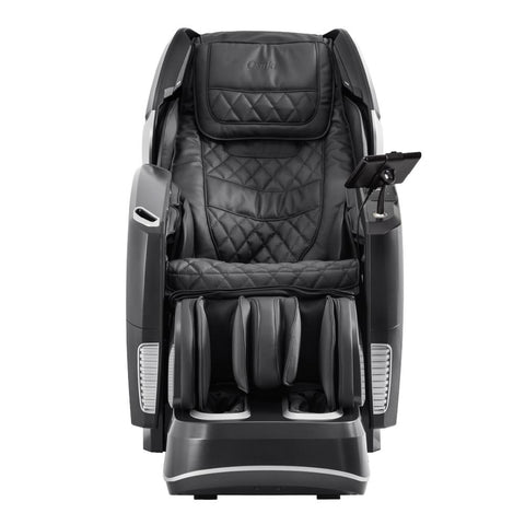 Osaki OS 4D Pro Maestro LE Massage Chair in black front view