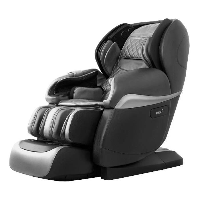 Osaki OS Pro Paragon 4D Massage Chair in black semi side view