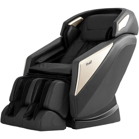 Osaki OS-Pro Omni Massage Chair in black color semi side view