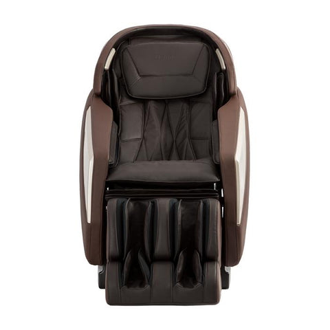 Osaki OS-Pro Omni Massage Chair in brown color front view