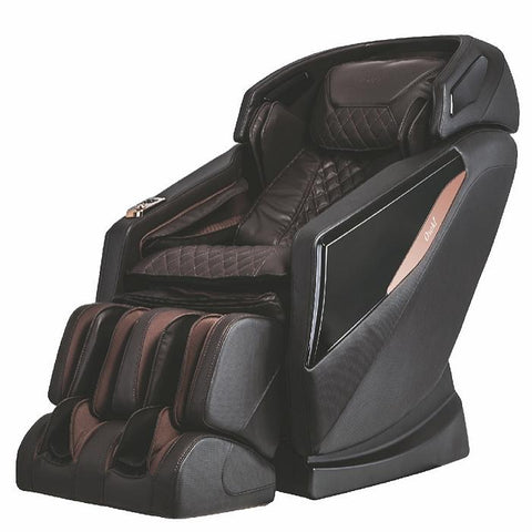 Osaki OS-Pro Yamato Massage Chair in brown semi side view