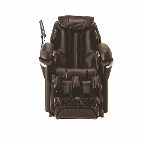Panasonic EP-MA73 Massage Chair in Brown Front View