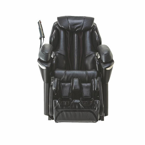 Panasonic EP-MA73 Massage Chair in Black Front View