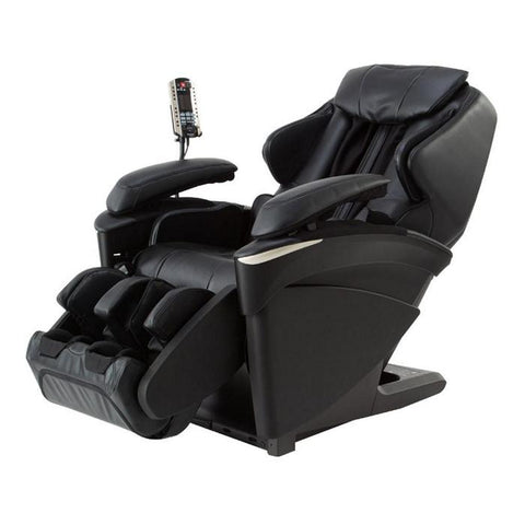 Panasonic EP-MA73 Massage Chair in black semi side view