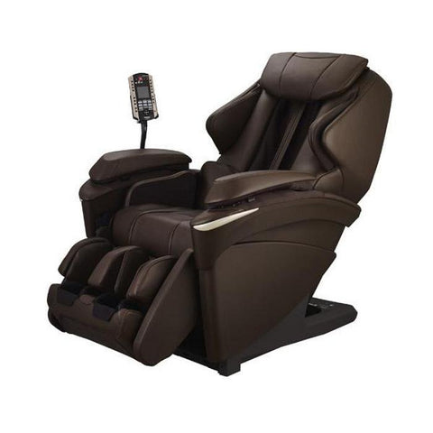 Panasonic EP-MA73 Massage Chair in Brown Angled View