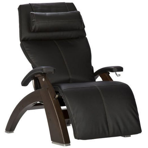 Perfect Chair PC-420 Dark Walnut Base Black Sofhyde Comfort