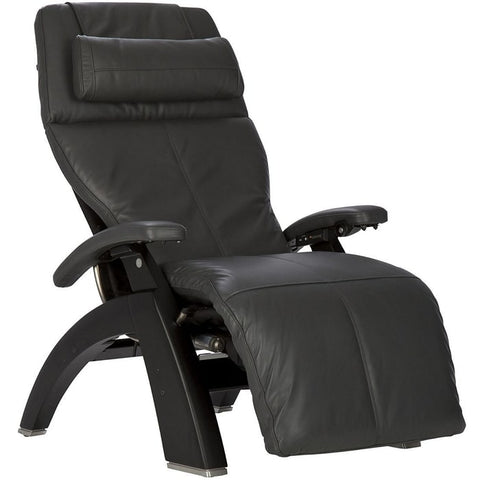 Perfect Chair PC-600 Matte Black Base Gray Premium Leather Performance