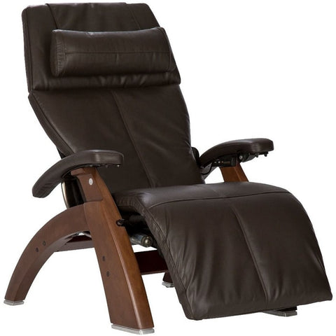 Perfect Chair PC-600 Walnut Base Espresso Premium Leather Performance