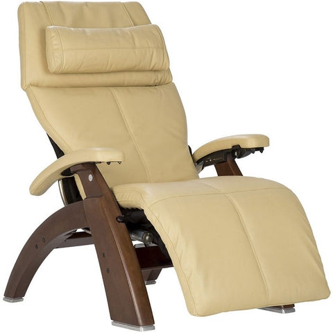 Perfect Chair PC-600 Walnut Base Ivory Premium Leather Performance
