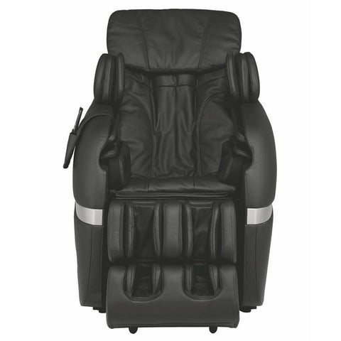 Positive Posture Brio Massage Chair in Black front view