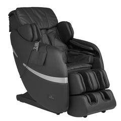 Positive Posture Brio Massage Chair in Black angled view with white background