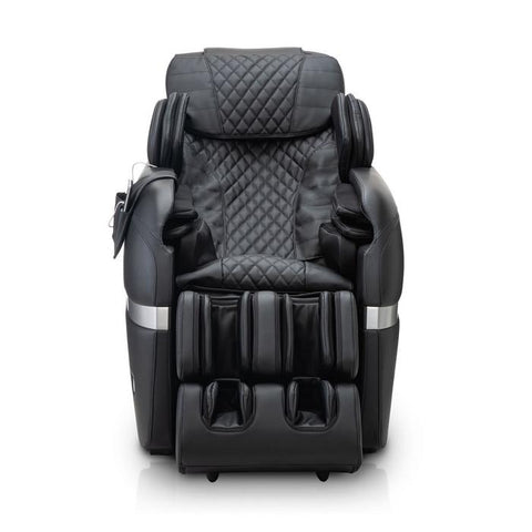 Positive Posture Brio Sport Massage Chair in black front view