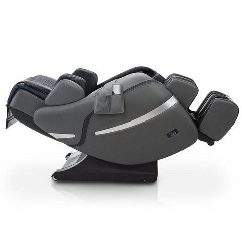 Positive Posture Brio Sport Massage Chair in Graphite reclined position