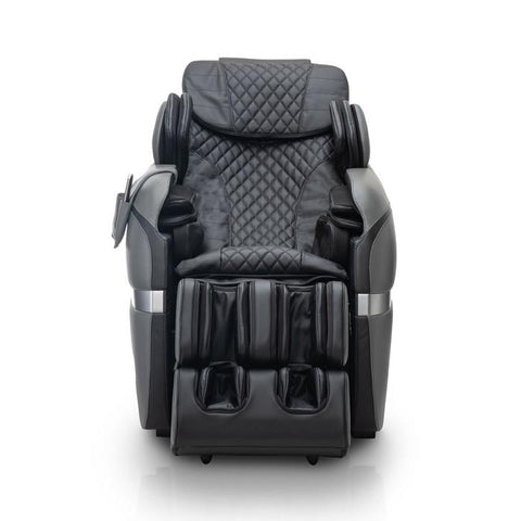 Positive Posture Brio Sport Massage Chair in Graphite front view