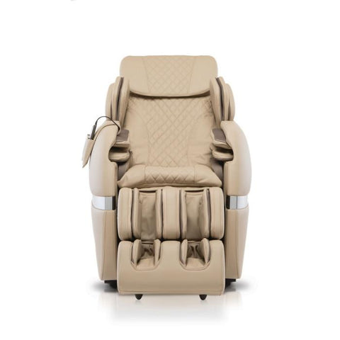 Positive Posture Brio+ Massage Chair in beige front view