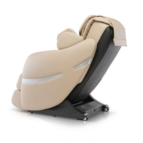 Positive Posture Brio+ Massage Chair in beige side view facing left