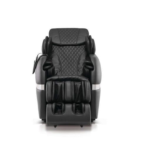 Positive Posture Brio+ Massage Chair in black front view