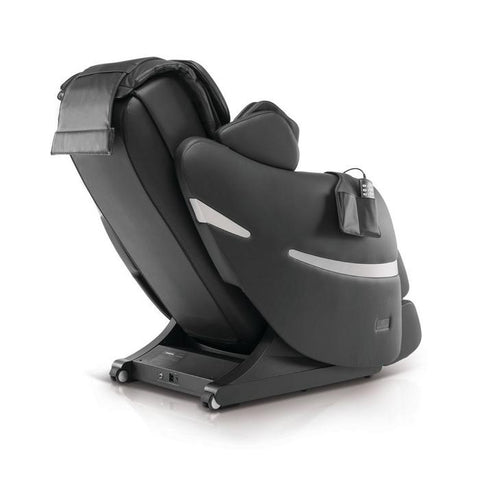 Positive Posture Brio+ Massage Chair in black 90 dregree angle facing left