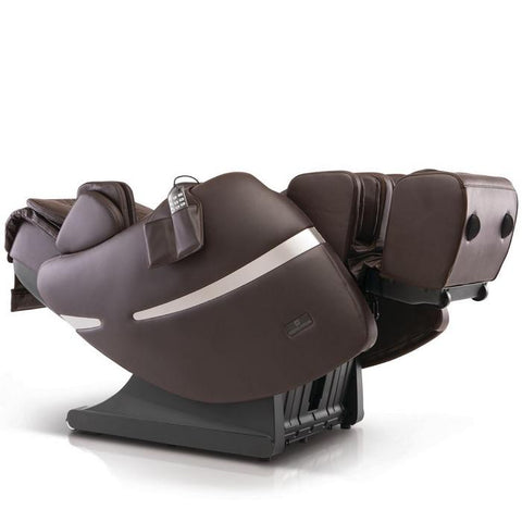 Positive Posture Brio+ Massage Chair in brown 90 degrees position