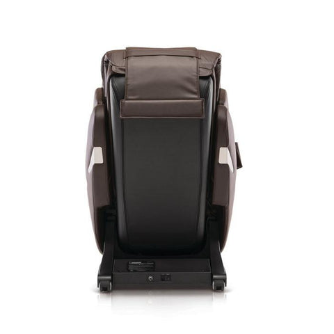 Positive Posture Brio+ Massage Chair in brown back view