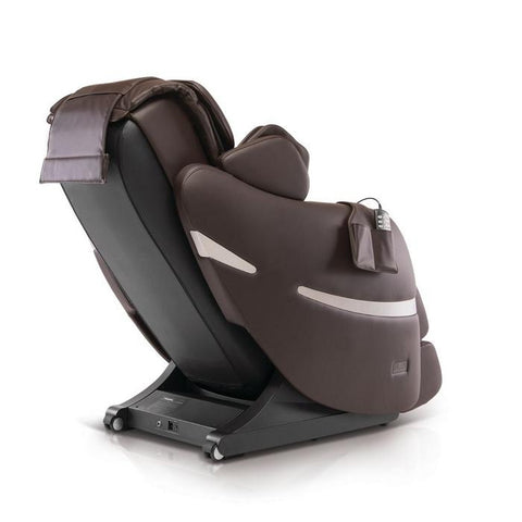 Positive Posture Brio+ Massage Chair in brown 90 degree angle facing right