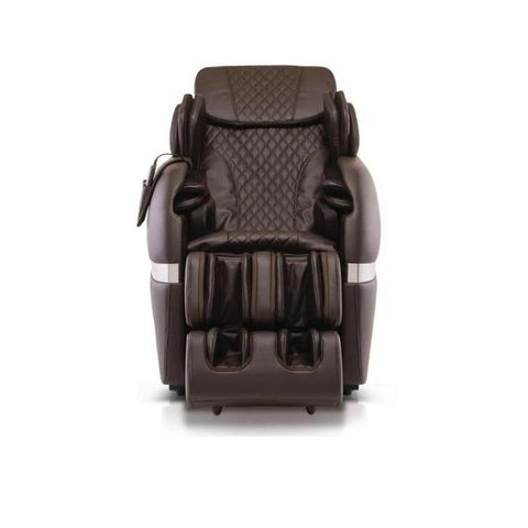 Positive Posture Brio+ Massage Chair in brown front view white background