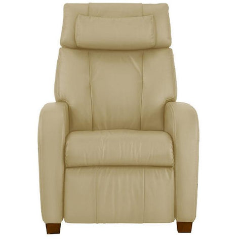 Positive Posture Café Zero Gravity Recliner in sand color front view white background
