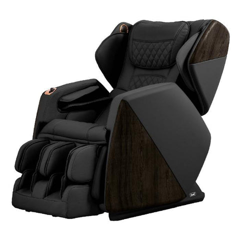 Osaki OS Pro SOHO 4D Massage Chair in black semi side view