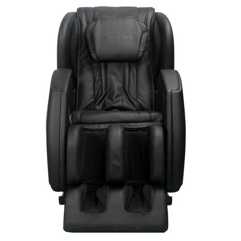 Sharper Image Revival Massage Chair in Black Front View