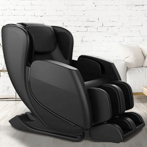 Sharper Image Revival Massage Chair in Black Insde the House
