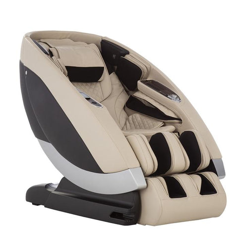 Human Touch Super Novo Massage Chair Cream side view