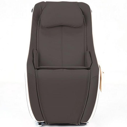 Synca Wellness CirC Massage Chair in coffee front view in white background