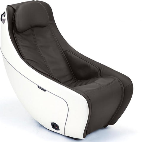 Synca Wellness CirC Massage Chair in coffee angled view white background