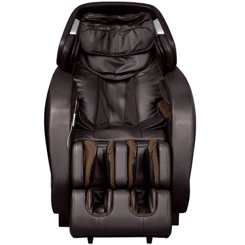 Titan Pro Jupiter XL Massage Chair in Brown Front View