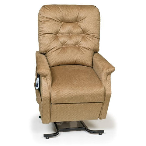 UltraComfort UC214 2 Position Medium Power Lift Chair in autumn color front view white background