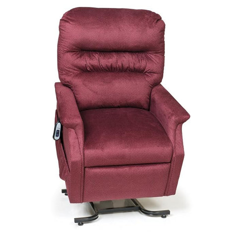 UltraComfort UC332M 3 Position Medium Power Lift Chair in rosewood color white background