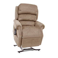 UltraComfort UC550-JPT Petite Zero Gravity Lift Chair in wicker color front view